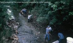 Managing Ralston Creek with Gabions